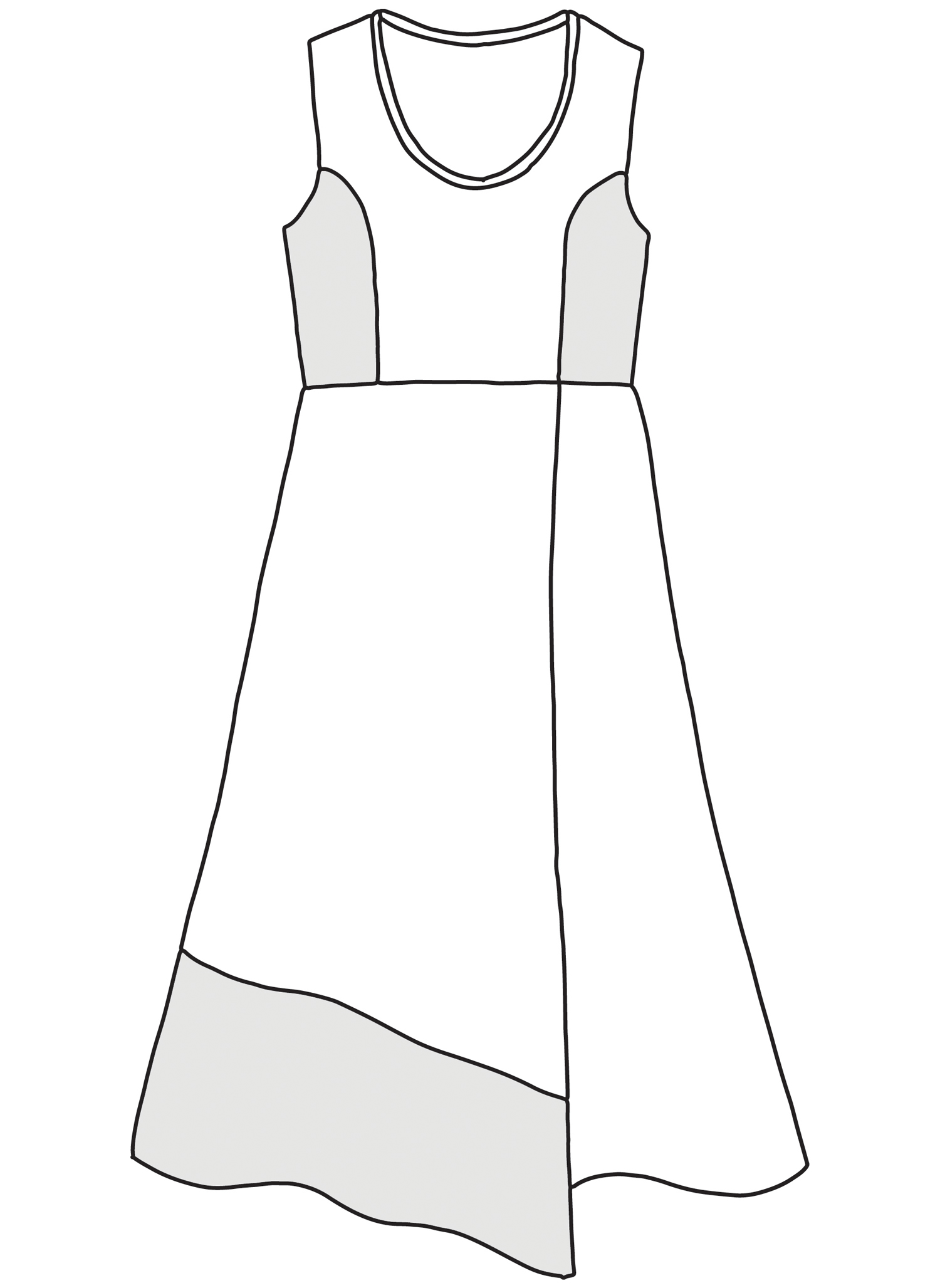 Midtown Dress sketch image