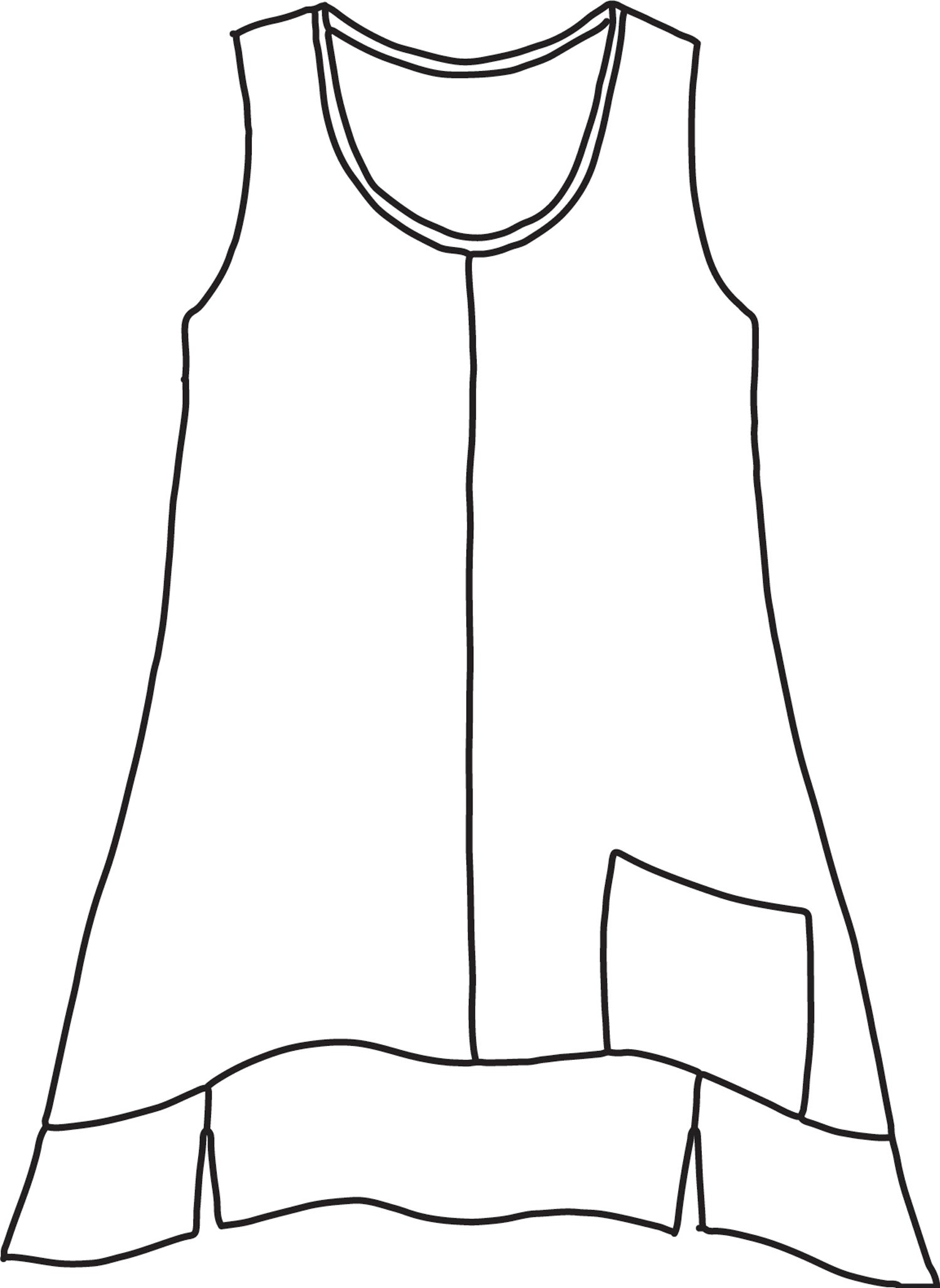 Park Tunic sketch image