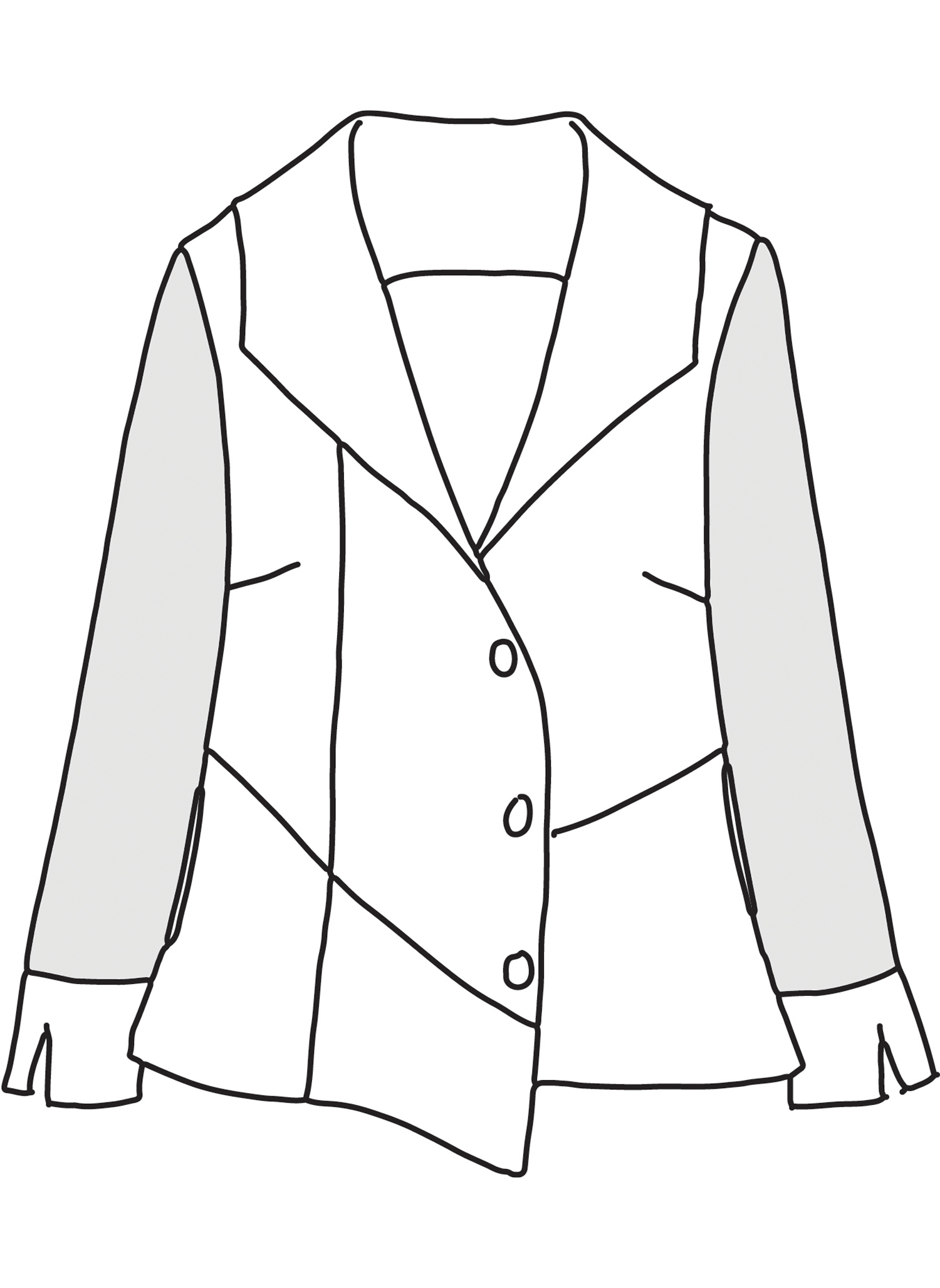Chelsea Jacket sketch image