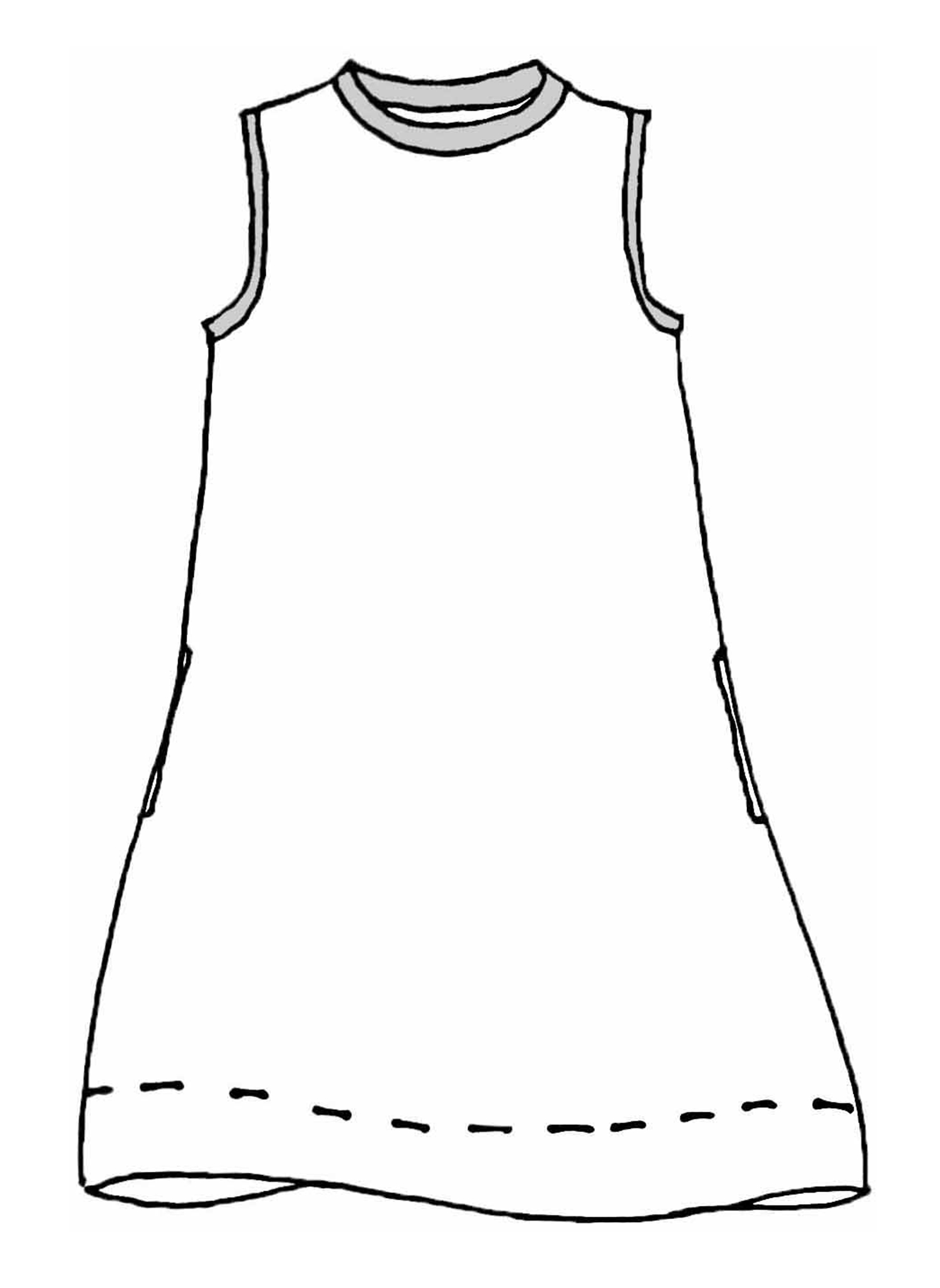 Over & Under Tunic sketch image