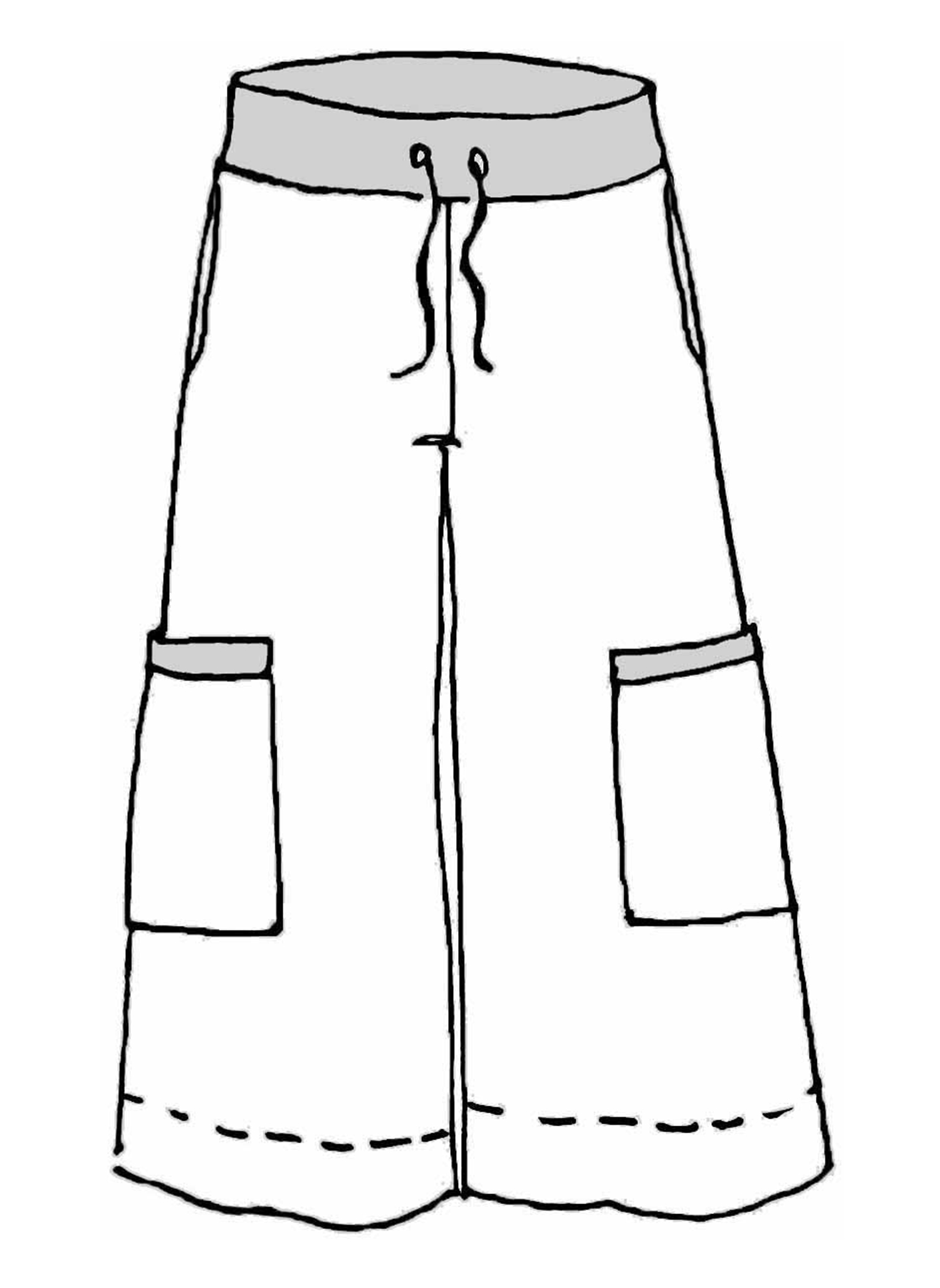Full Time Pant sketch image