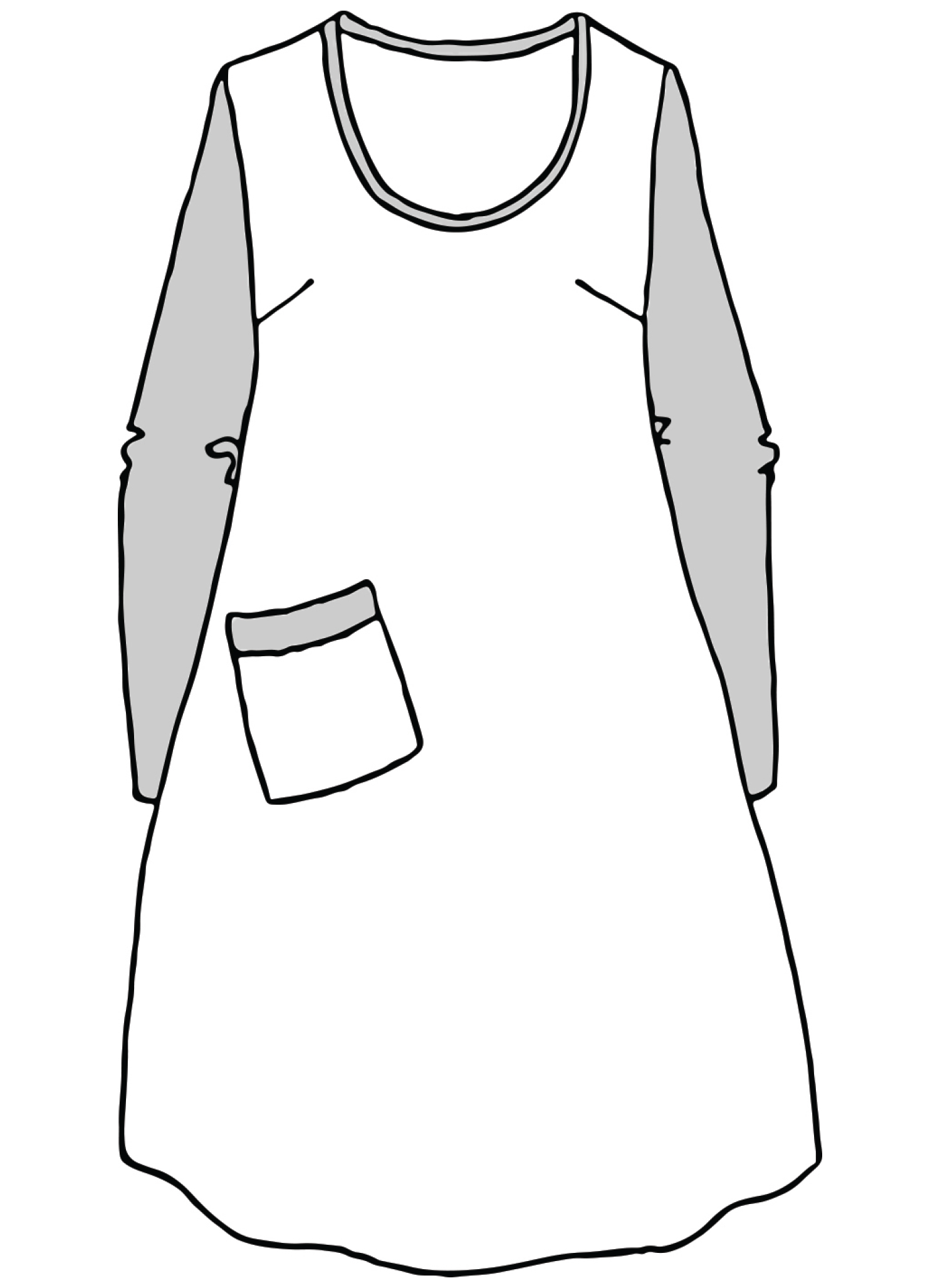 City Dress sketch image