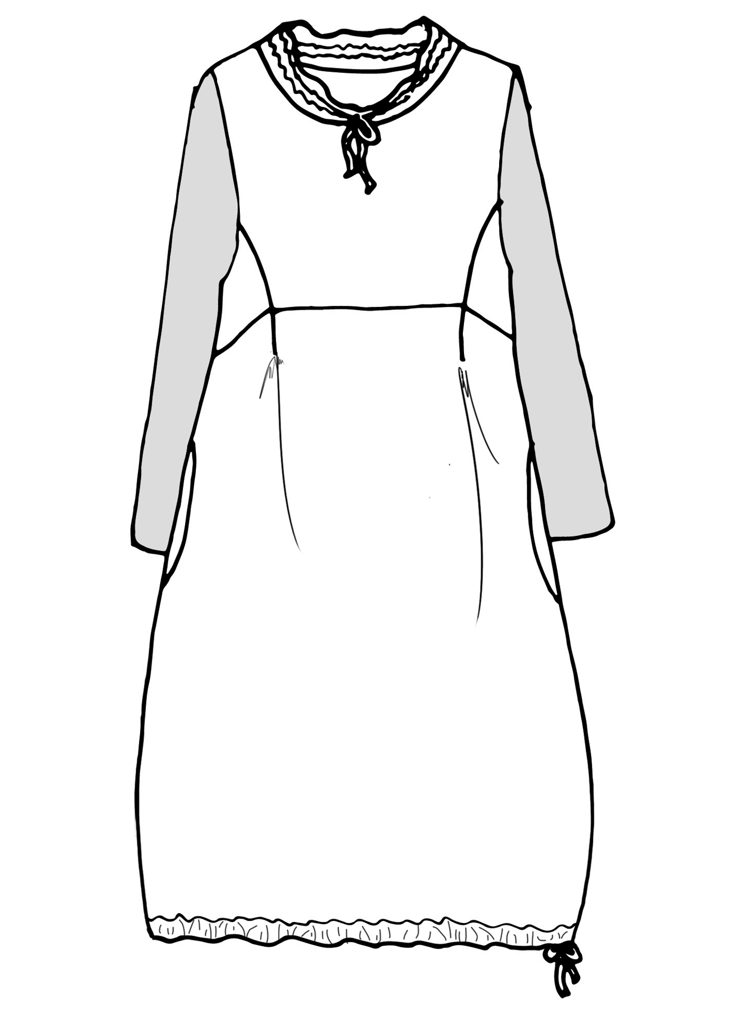 Revere Dress sketch image