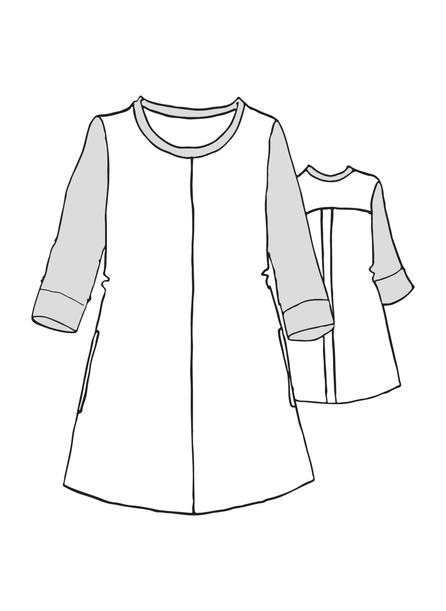Horizon Tunic sketch image