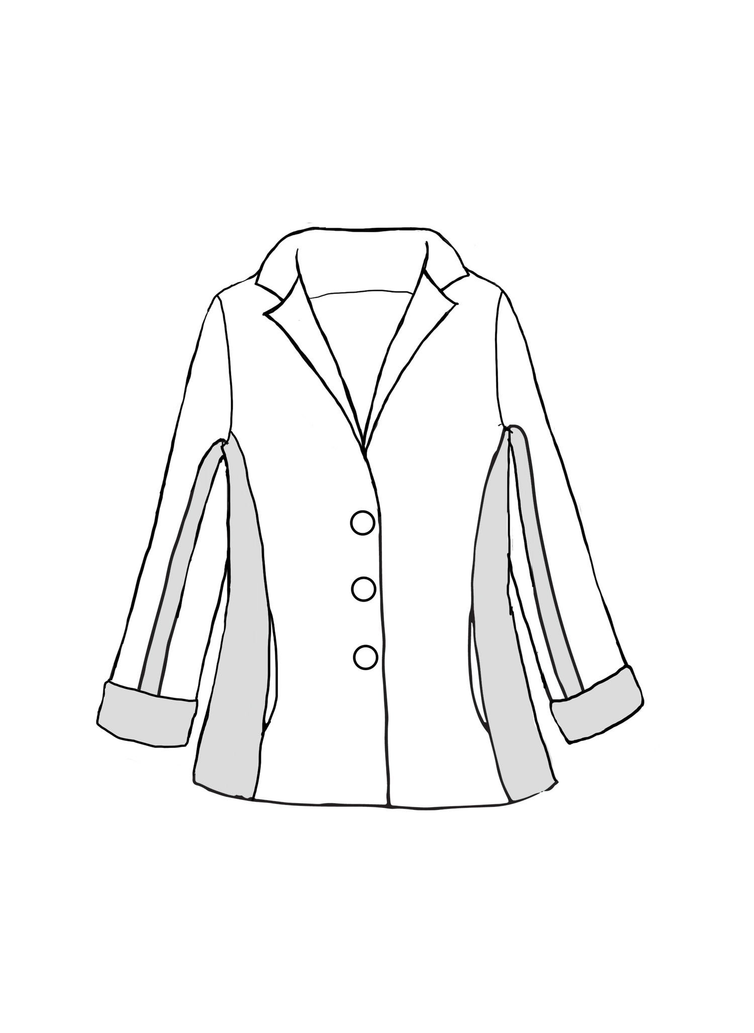Market Jacket sketch image