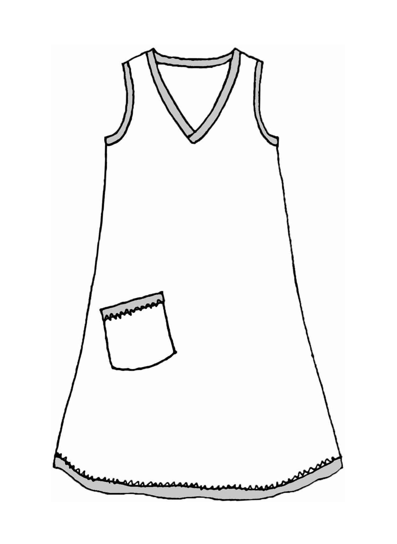 Live In Dress sketch image