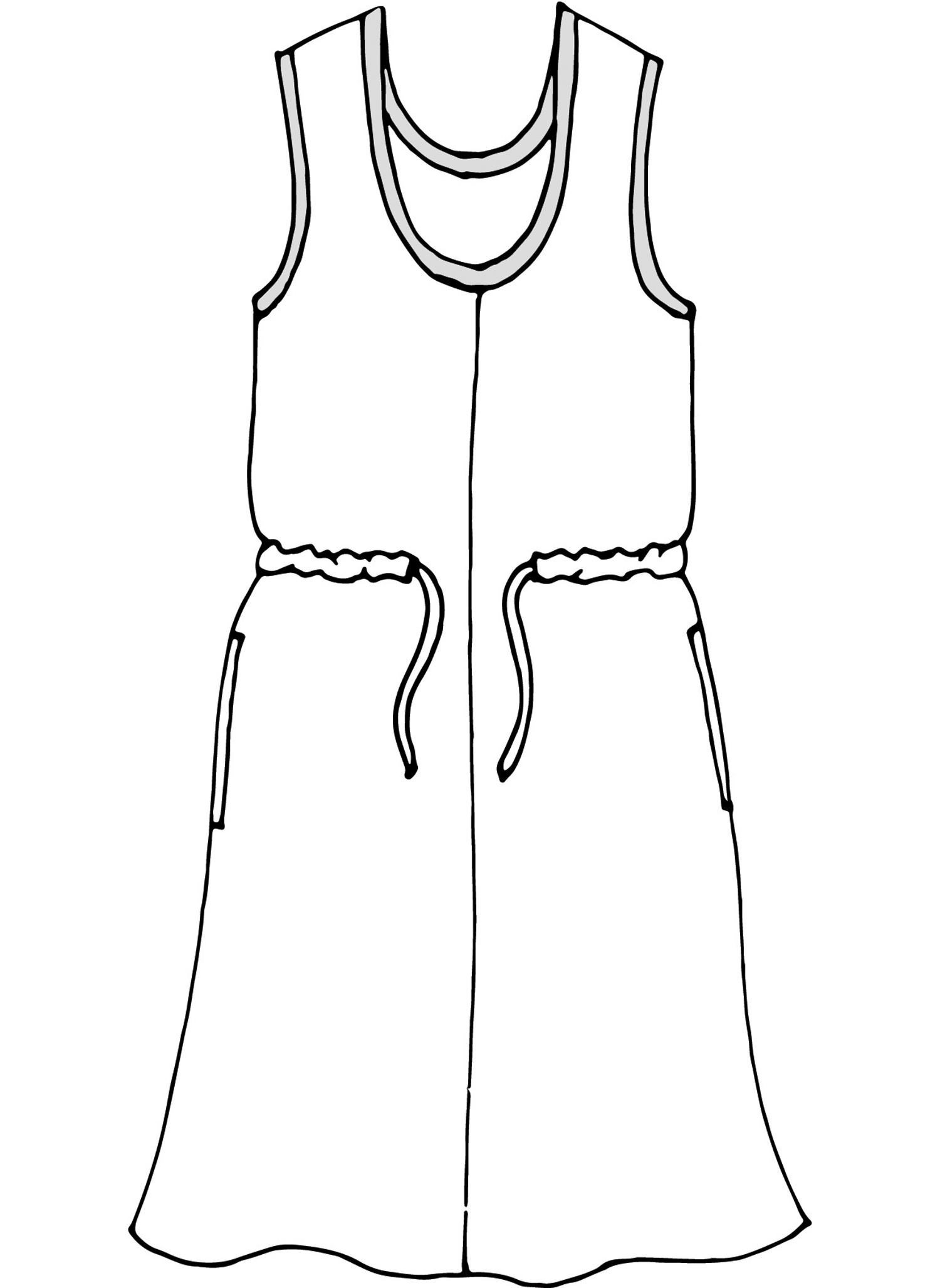 Metro Dress sketch image