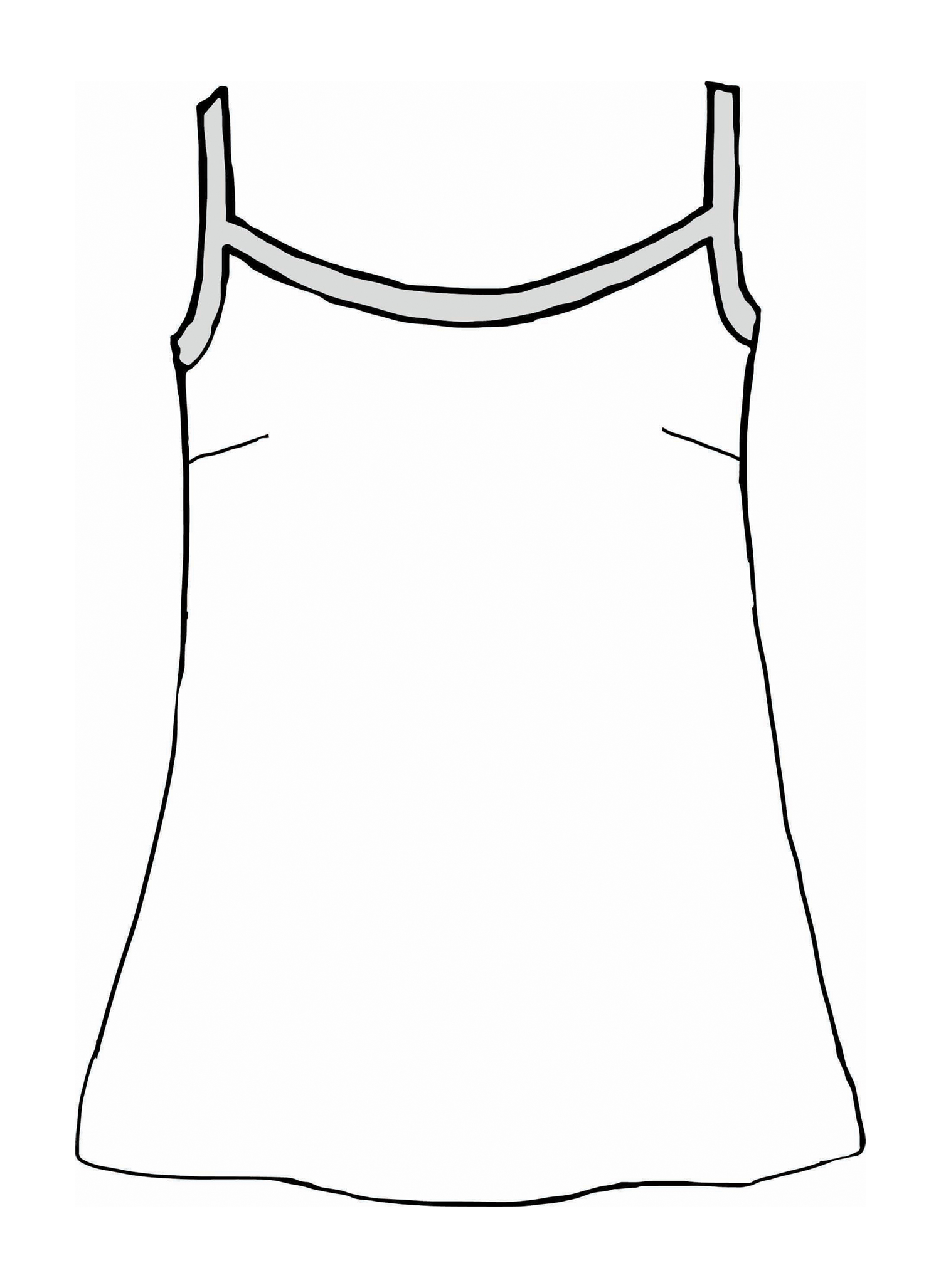Upward Tunic sketch image