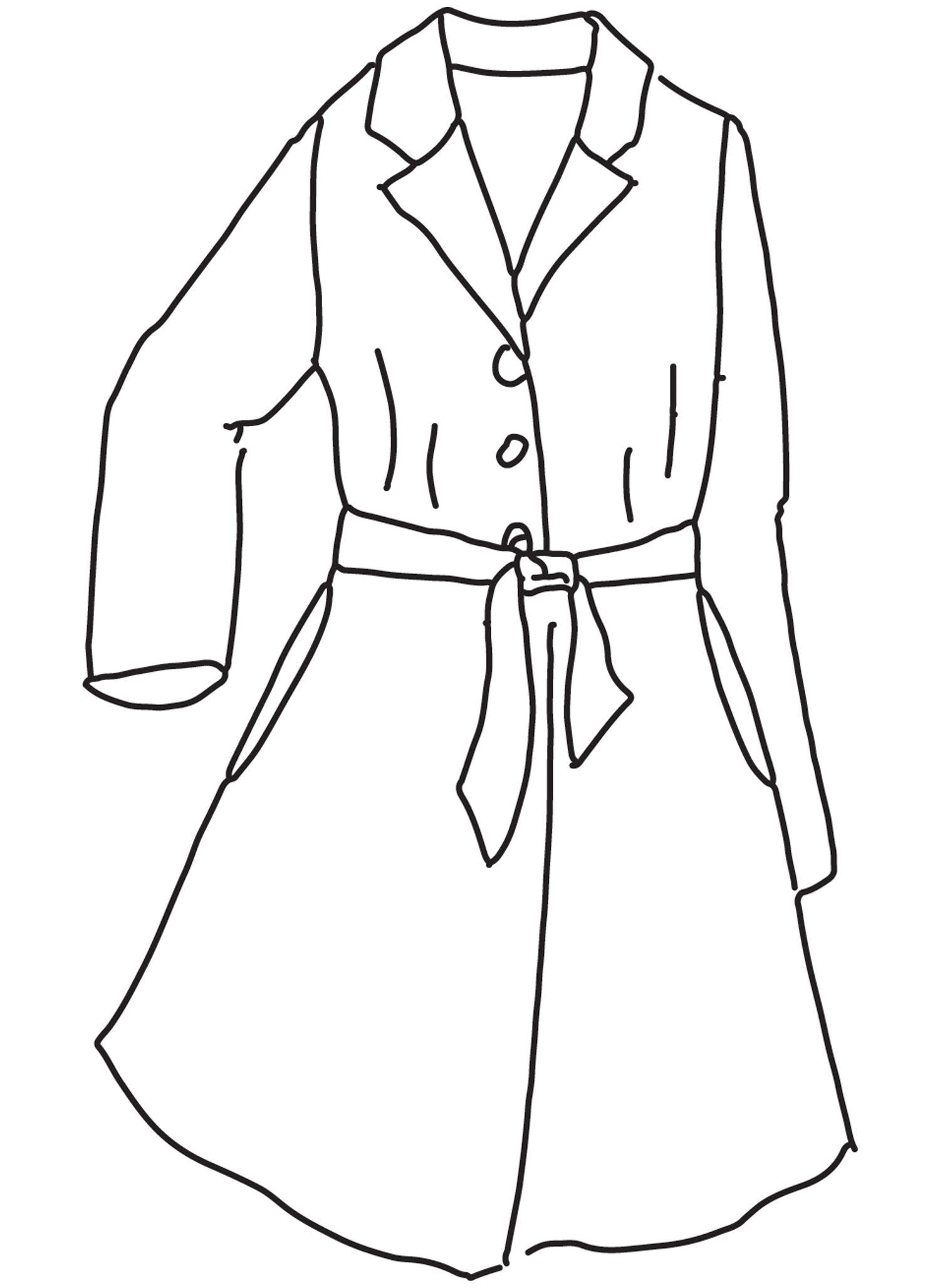Favorite Jacket sketch image